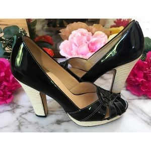 Cole Haan Collection Patent Leather Pumps Heels